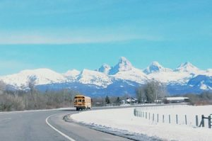 view of the tetons from tetonia